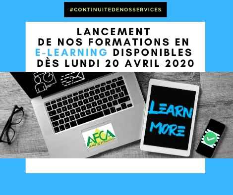 E learning annonce